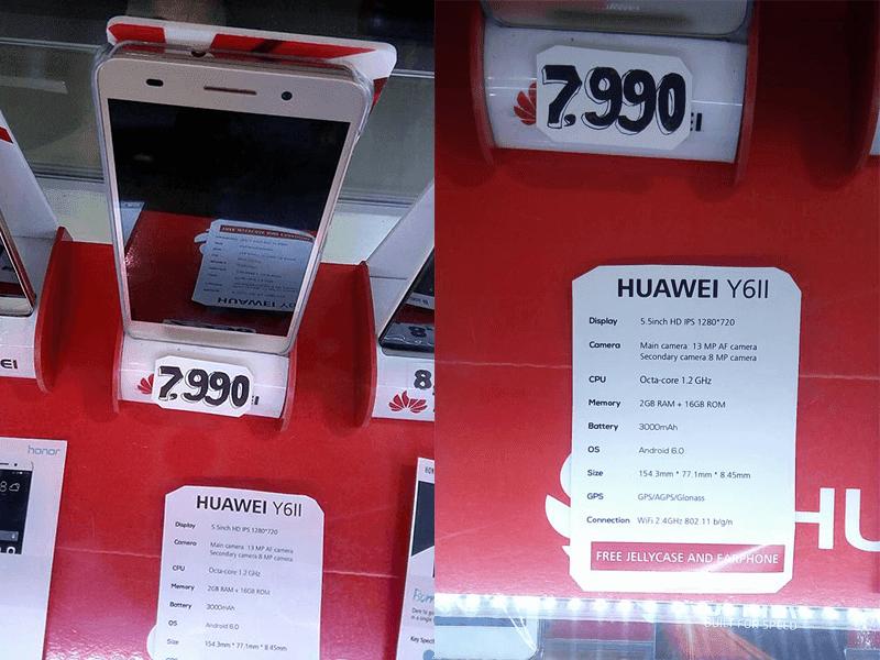Huawei Y6II Philippines
