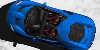 2017 Lamborghini Centenario Roadster top view image