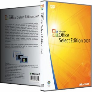 Microsoft Office 2007 SP3 Select Edition 12 0 6766 5000