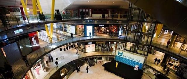 Lojas do Shopping Las Arenas
