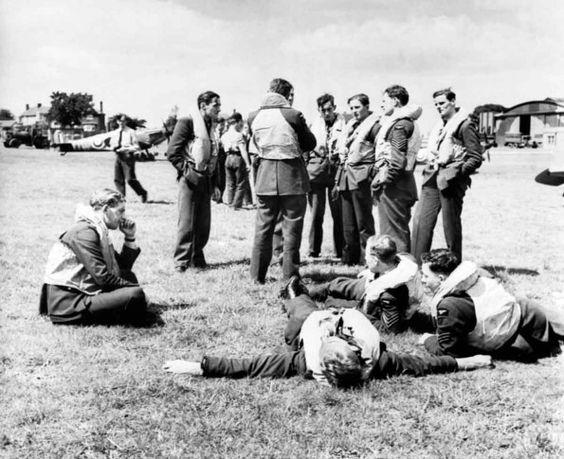 29 July 1940 worldwartwo.filminspector.com RAF No. 610 Squadron