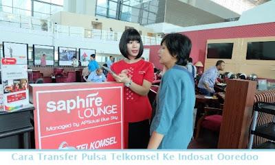 Cara Transfer Pulsa Telkomsel Ke Indosat Ooredoo (Termudah.com)