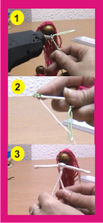 Muñecas hechas de alambre e hilo