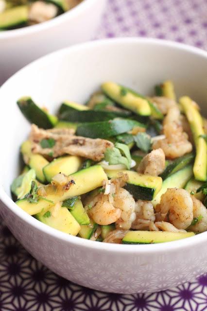courgette porc vietnam