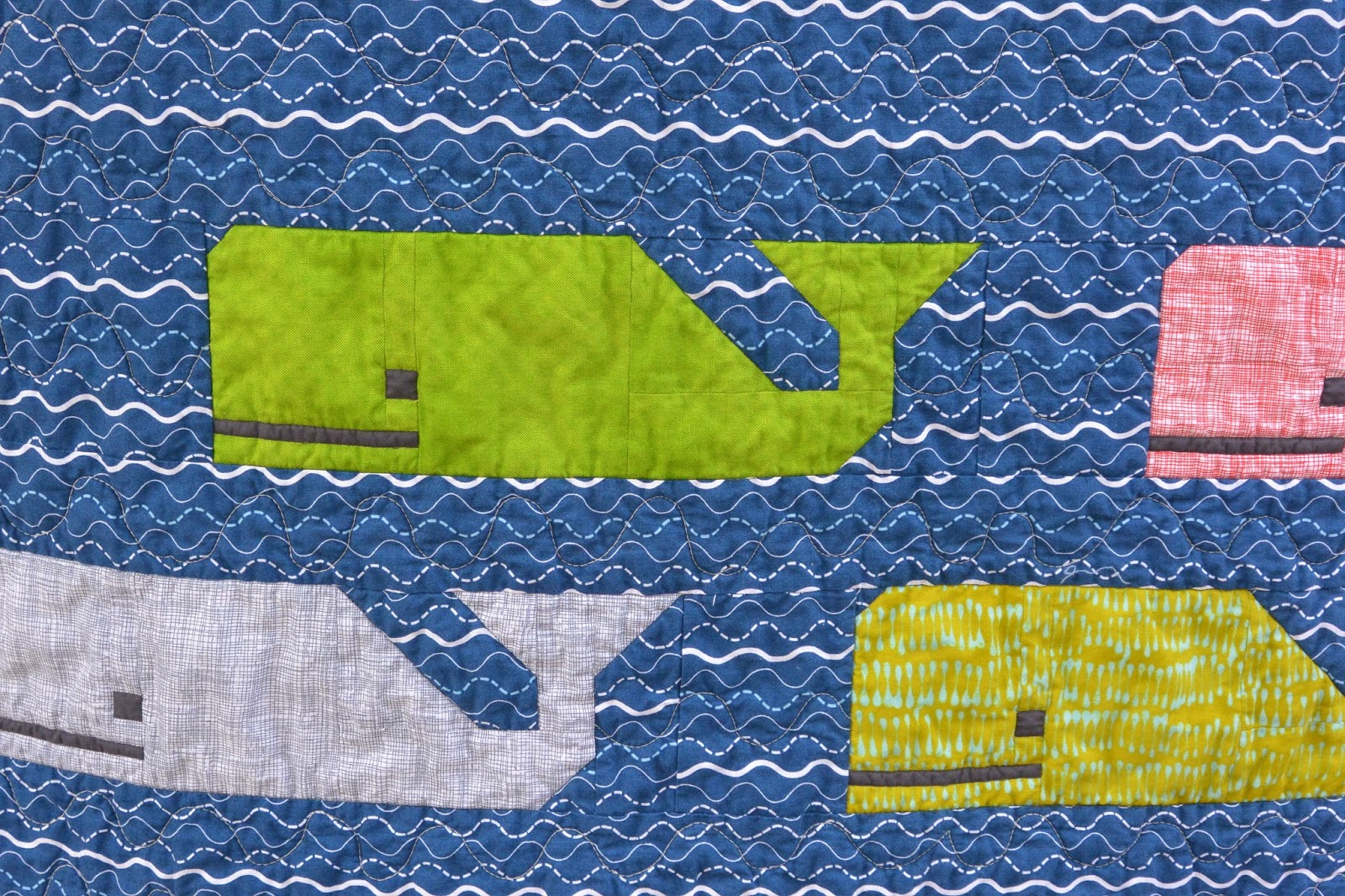 Will Knit for Math: Sailboat Baby Quilt!!! - photo#25