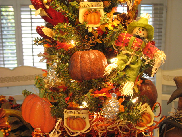 Country Creations By Denise: New Autumn Thanksgiving Tree