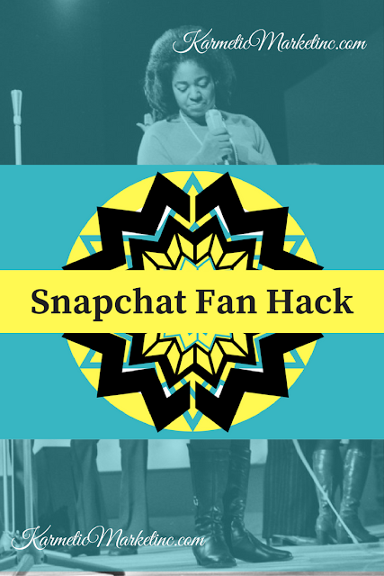 snapchat hack to grow your fanbase
