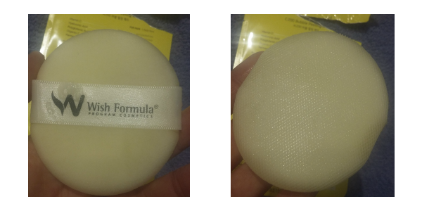 Wish Formula Bubble Peeling Pad:textura