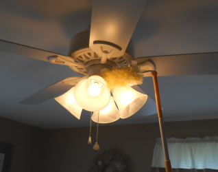 This That And A Little More Best Way To Clean Ceiling