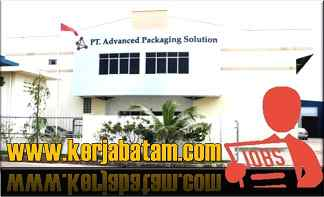 Lowongan Kerja Batam Advanced Packaging Solution