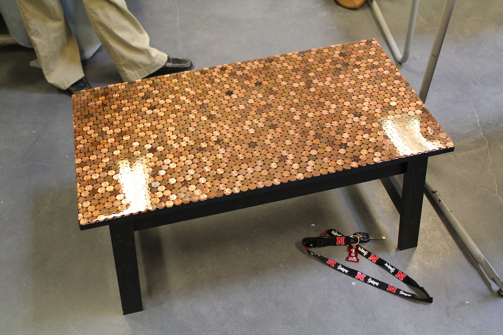 Kelsey Smith: Penny Coffee Table