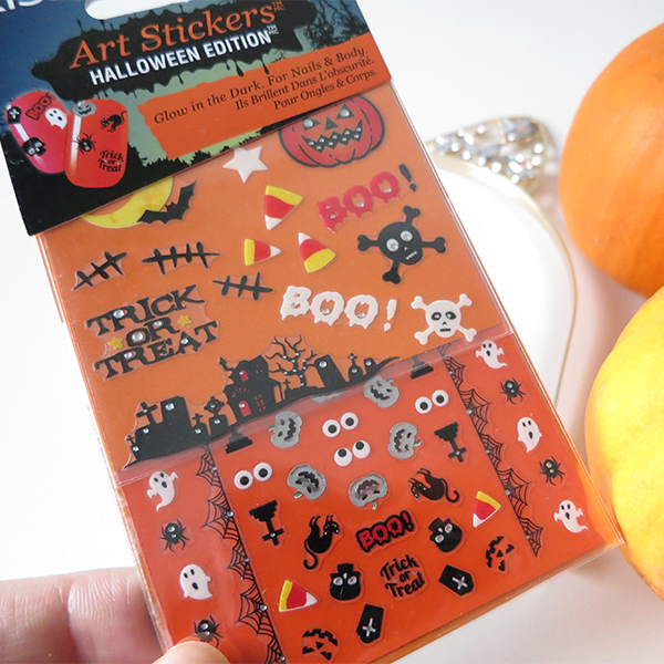 Kiss Nail Art Stickers Halloween Edition