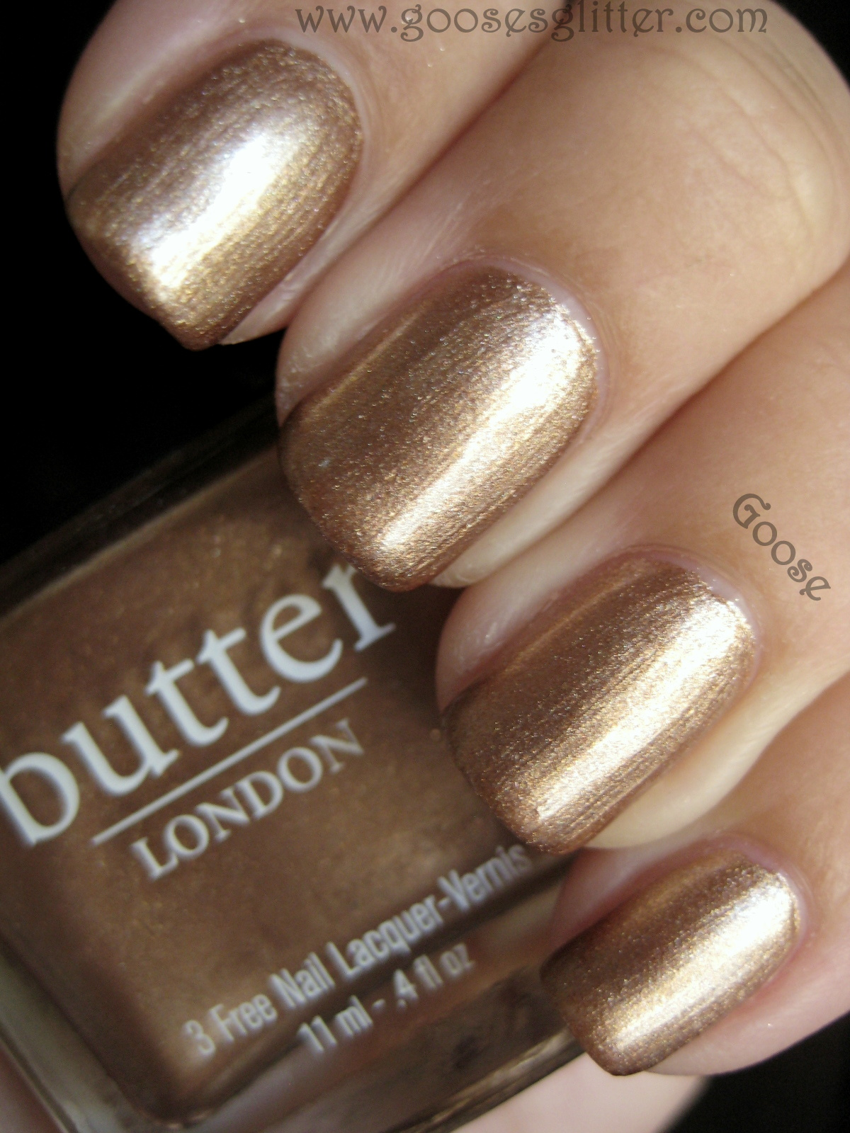 Goose S Glitter Butter London The Old Bill And Chanel Delight