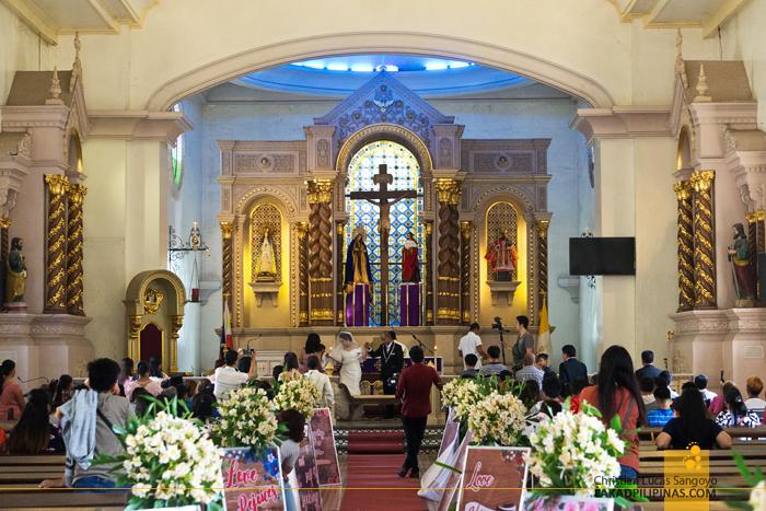 Iba Cathedral Zambales Interiors Altar