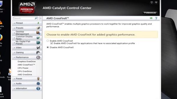 Cara Mengaktifkan Fitur AMD CrossfireX Dan APU Dual Graphic