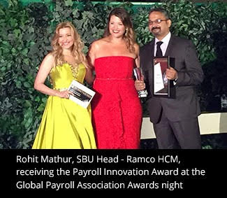Ramco Systems wins Global Payroll Association's 'Payroll Innovation Award' Focus on Innovation drives Frictionless Era with Voice based User Interface