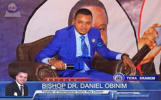 Diamond Appiah jumps to the defence of Obinim [Video]