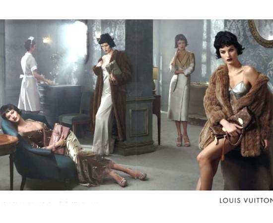 Η νέα καμπάνια Louis Vuitton's 2013-14 έχει πολύ γούνα..