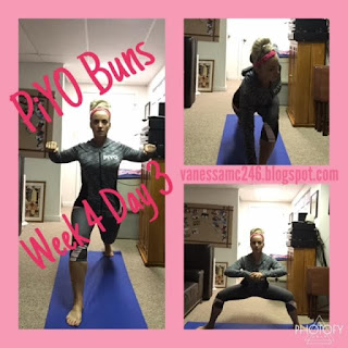 PiYO, Pilates, Yoga, Chalene Johnson, Buns workout, legs workout, glutes workout, vanessamc246, change one thing, change everything
