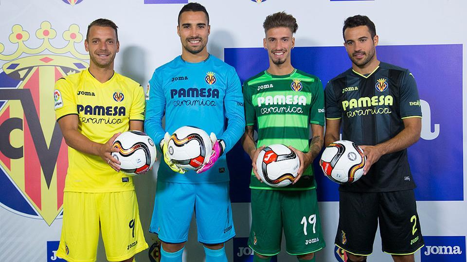 a5bc5aaa48bad A Joma apresentou as camisas do Villarreal CF para temporada 2016-2017
