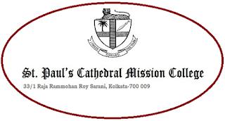 St Paul's Cathedral Mission College, 33/1, Raja Rammohan Roy Sarani [Amherst Street], Kolkata – 700 009, West Bengal