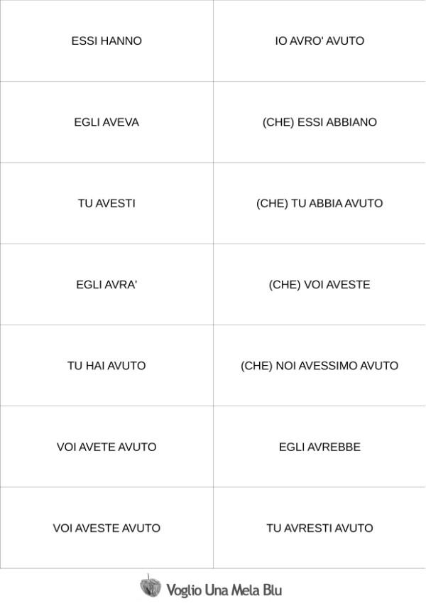 Voglio Una Mela Blu 100 Flashcards Gratis Per Ripassare Lanalisi