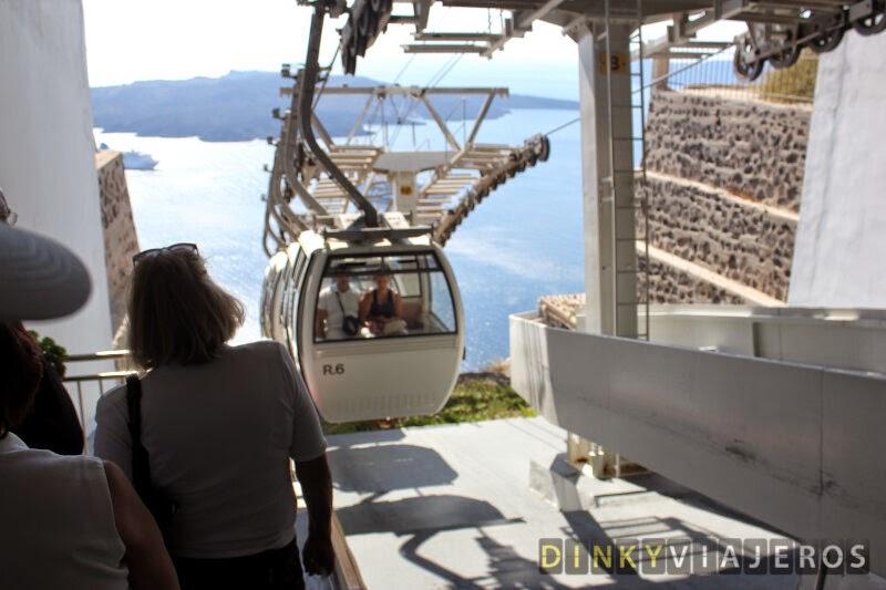 Teleférico de Santorini