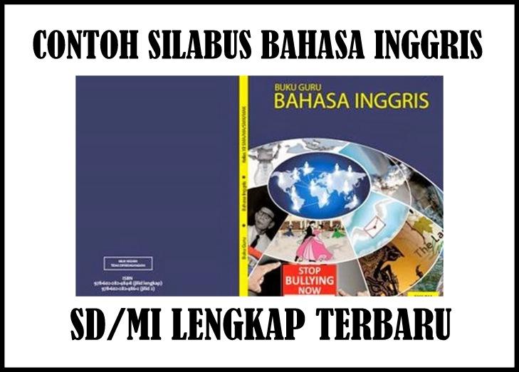 Download Contoh Silabus Mapel Bahasa Inggris Sd Mi Terbaru Revisi Guru