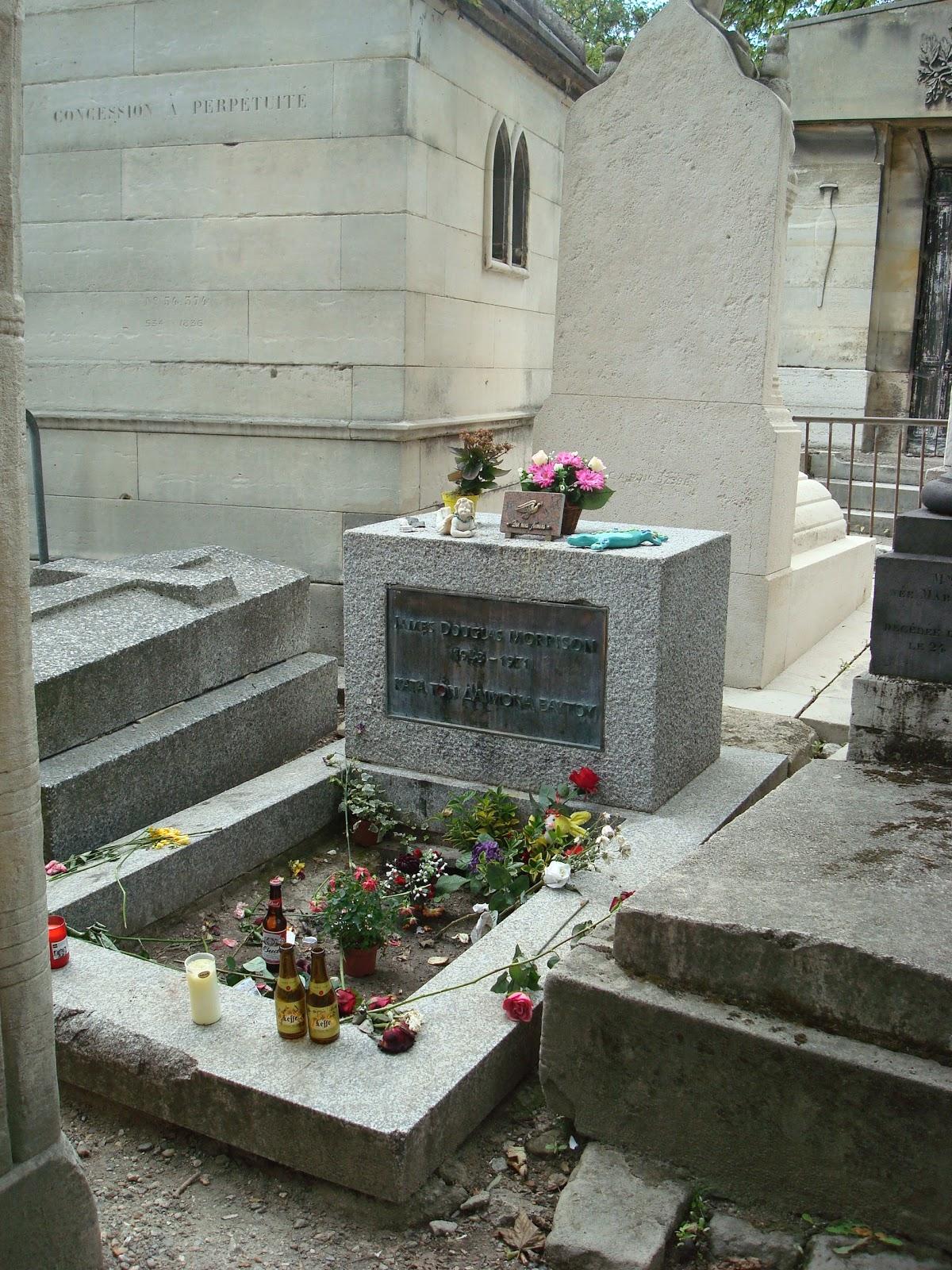 Jim Morrison Grave Ghost