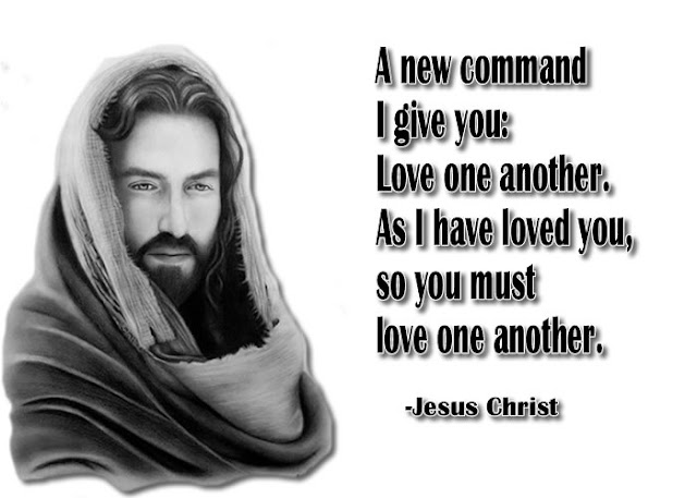 A new command I give you: Love one another