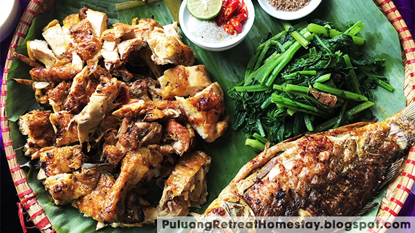 Eat duck vit co lung in pu luong nature reserve thanh hoa vietnam