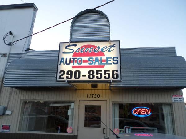 Sunset Auto Sales >> Sunset Auto Sales Inventory
