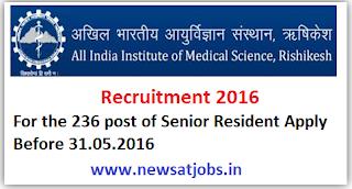 aiims+rishikesh+recruitment+2016a