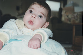 Broken Dreams. Picture of Savannah as a baby.