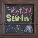 Friday Night Sew In — September