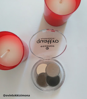 ESSENCE QUATTRO EYESHADOWS