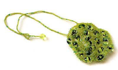 купить необычное украшение на шею подарок девушке бижутерия из бисера