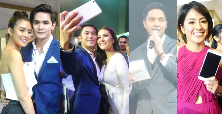 Hottest Pinoy celebrities joined the night of fun and fashion in the grand unveiling of OPPO F3 Plus