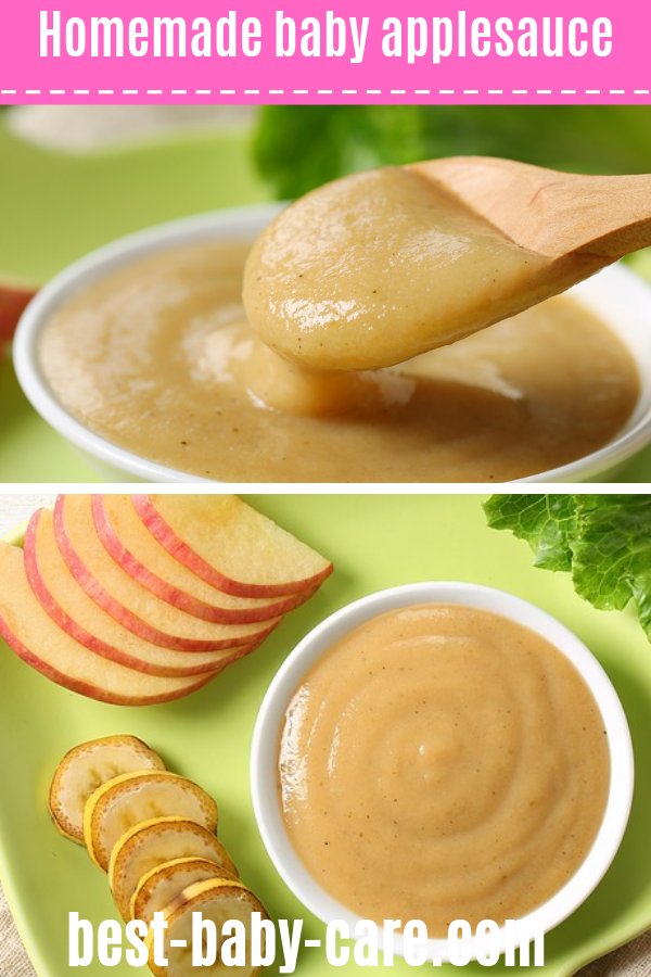 baby applesauce recipe