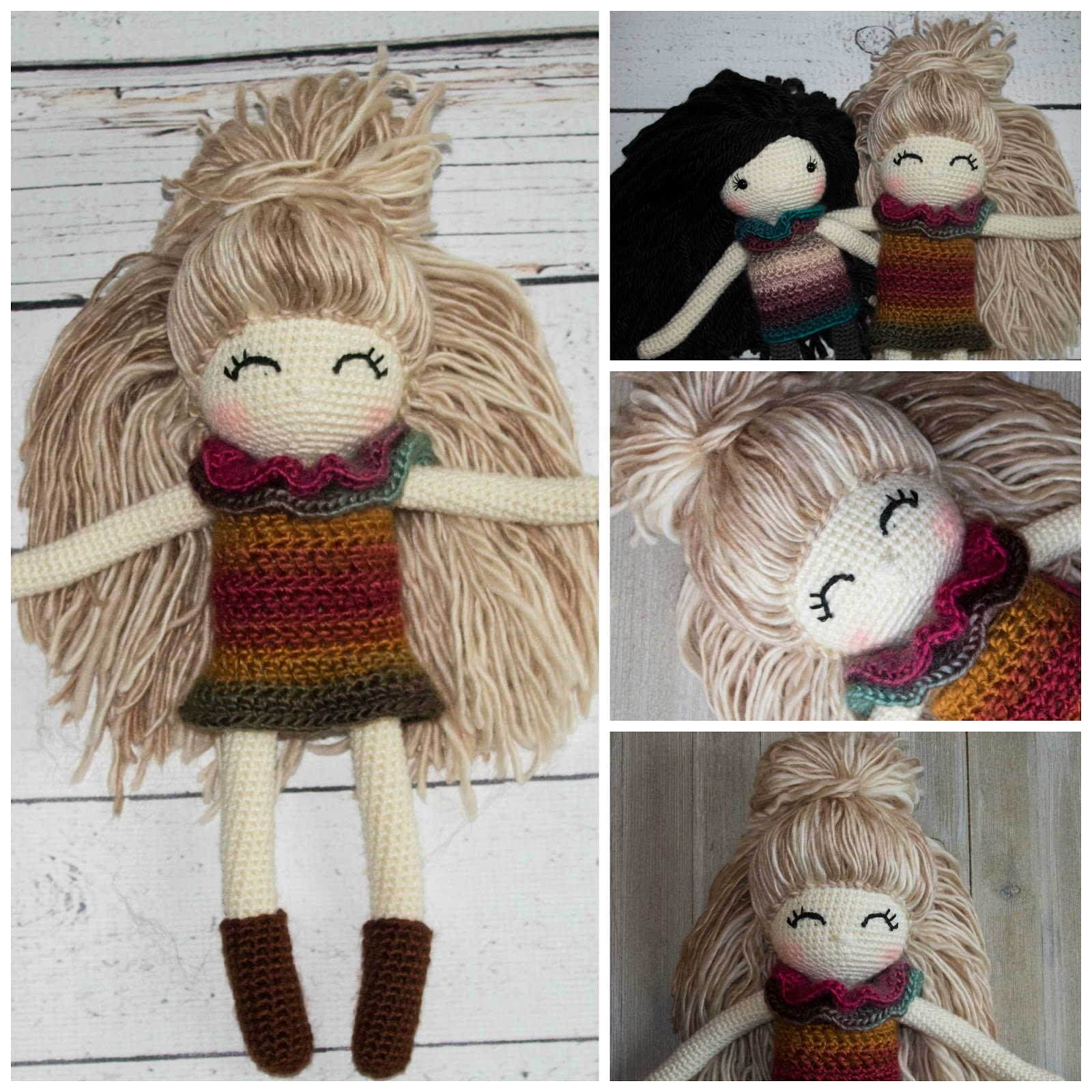 Crochet Doll Pattern Unique Design