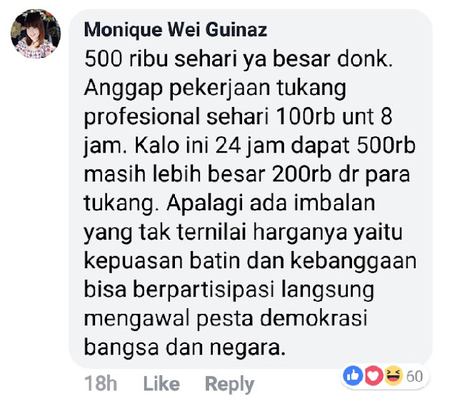 Betulkah Anggota KPPS Pemilu 2019 Hanya Bekerja Sehari Saja?