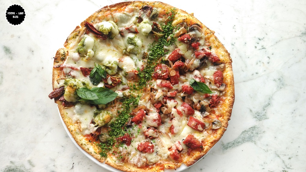 Pizzas @ The Cafe Felix Experience | MG Road | Bangalore