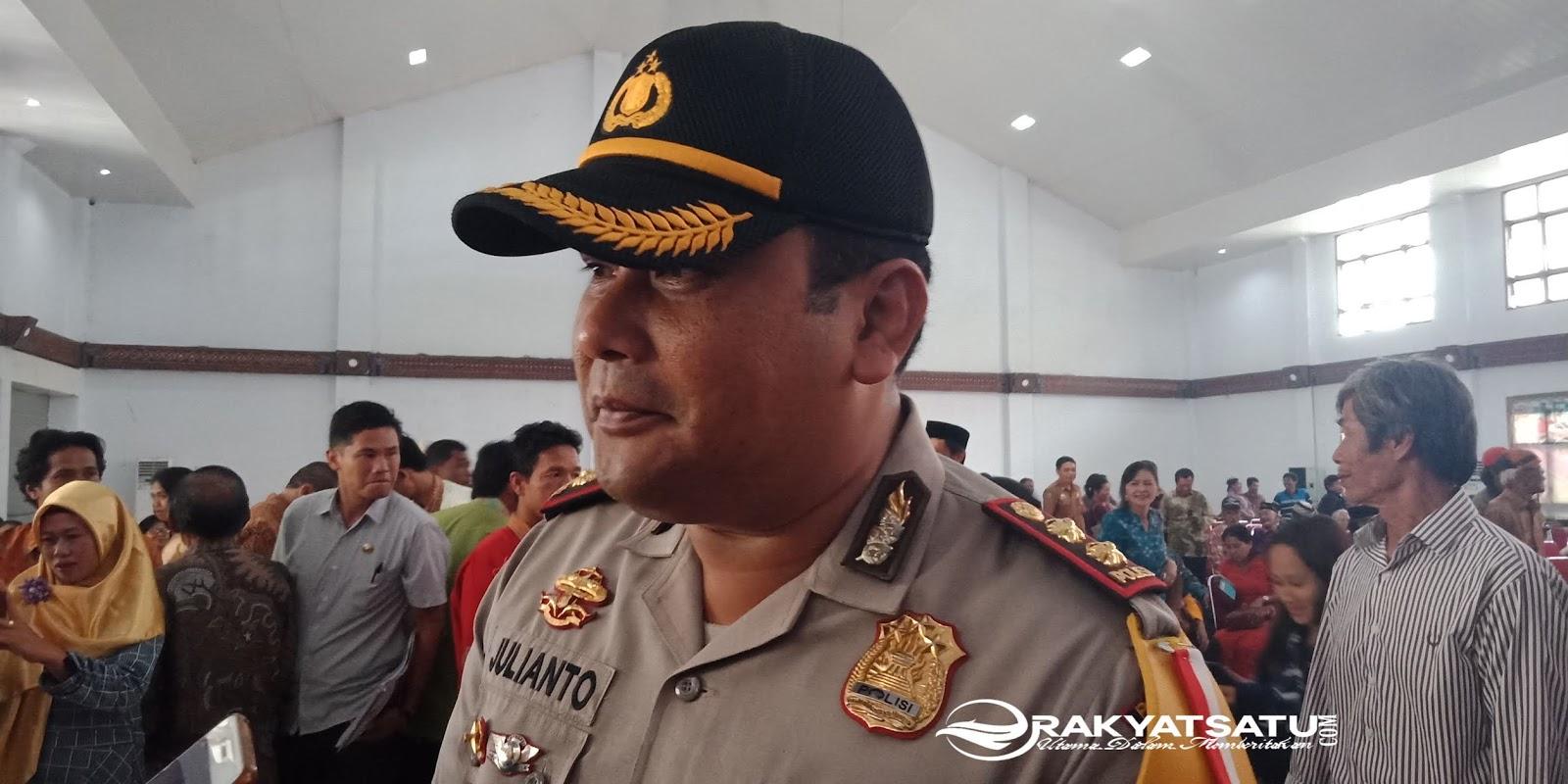 Komitmen Berantas Judi di Toraja, Kapolres: Ada Anggota Saya Terlibat? Laporkan