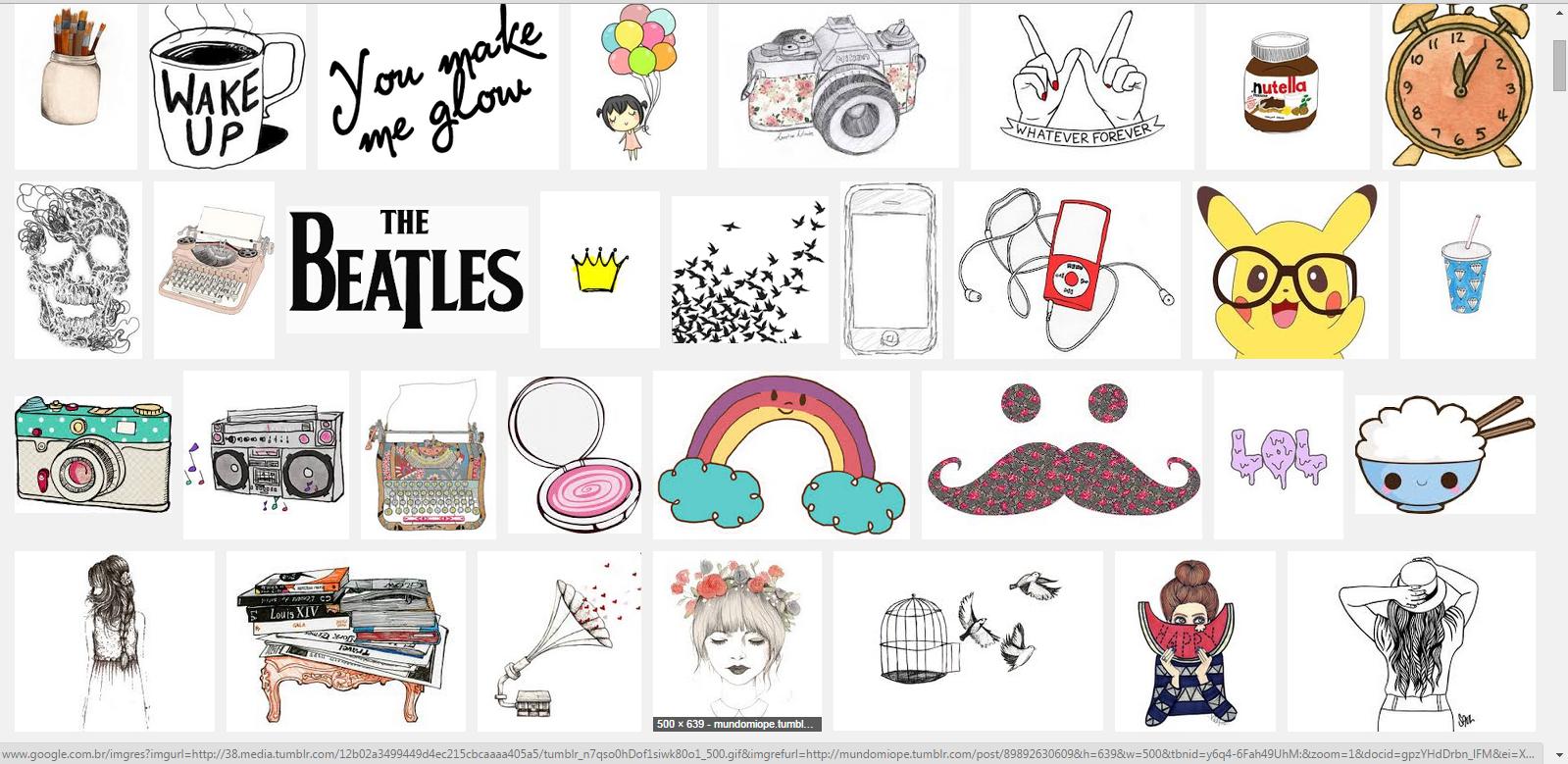 Fashion Teen: Como Fazer Montagem Tumblr Pelo Word