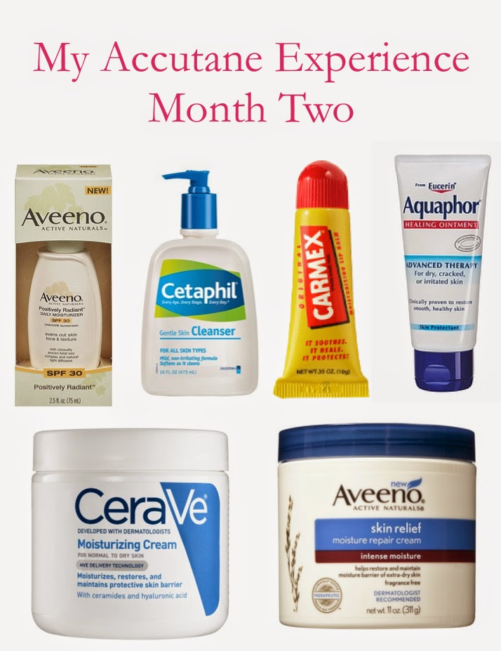 My Accutane Experience - Month Two | Pick Your Beau