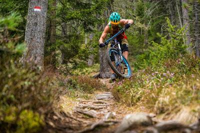 Ritten Trail mit dem Mountainbike