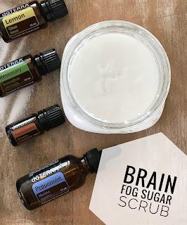 Brain Fog Sugar Scrub