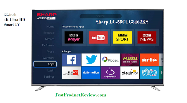 Sharp LC-55CUG8462KS 55 inch Ultra HD TV