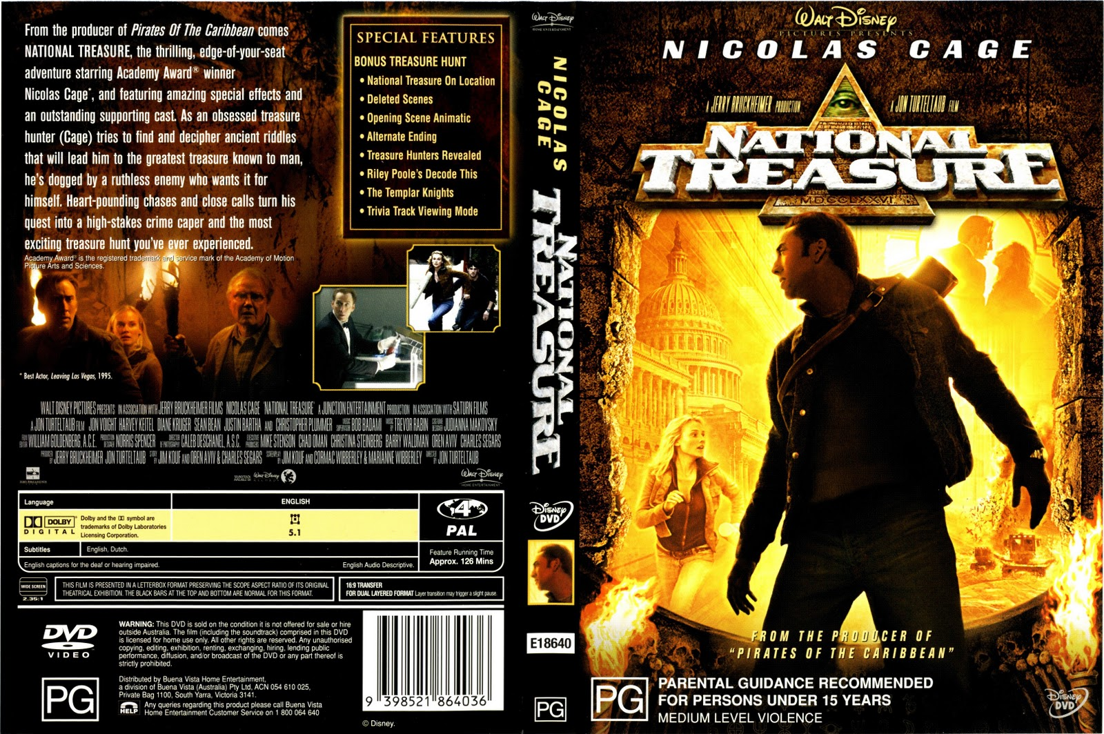Movies Collection National Treasure 2
