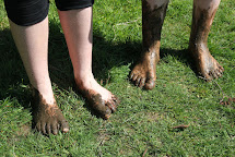Barefoot in the Mud and Grass